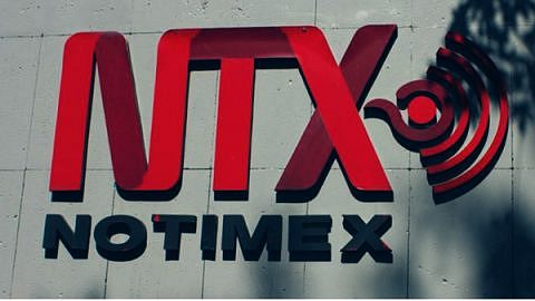 logotipo de la Agencia de Noticias del Estado Mexicano Notimex