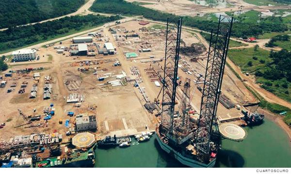 Refinería de Dos Bocas para combustibles