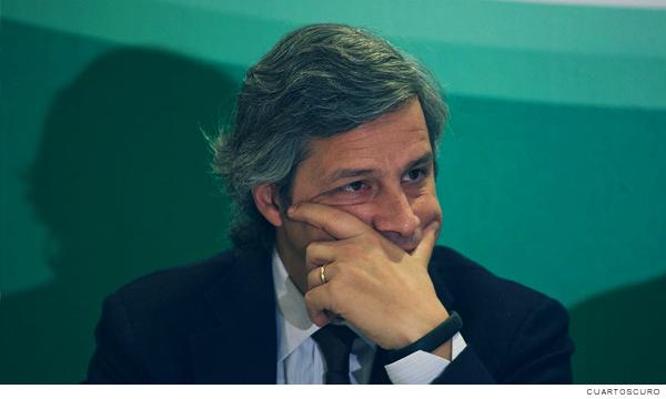 Fotografía de Claudio X González presidente de Mexicanos contra la Corrupción y la Impunidad