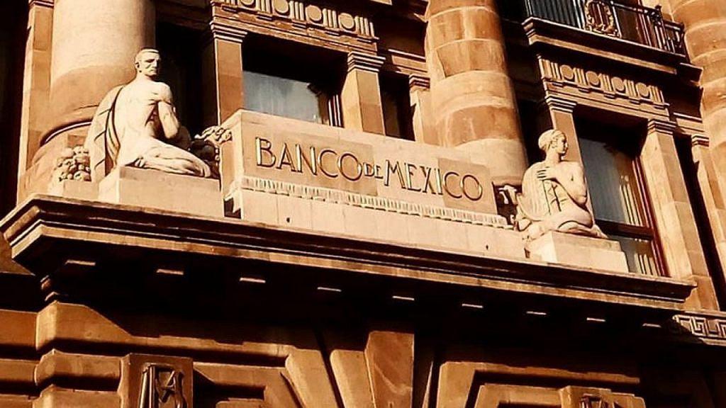 Fachada del Banco de México